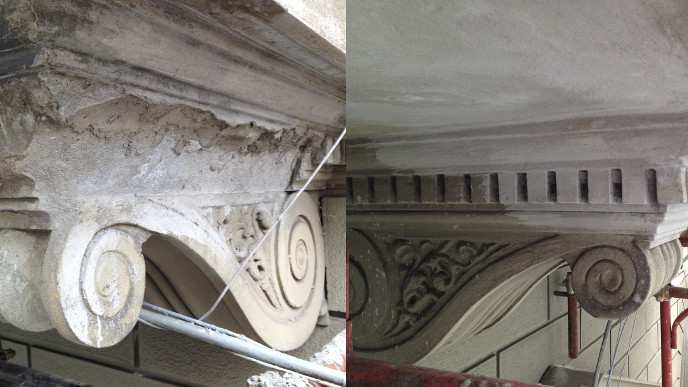 works conservation restoration